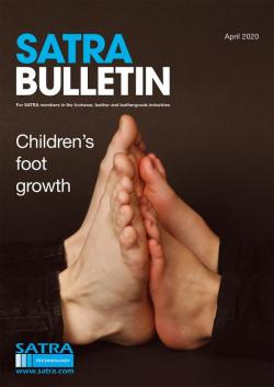 SATRA Bulletin April 2020 cover