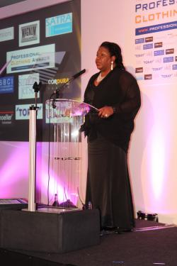 Yvette Ashby, event organiser and Managing Director of the Workwear & Corporate Clothing Show
